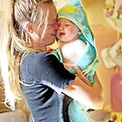 Kelly-Jo with her baby son Dylan by Vanessa Pike-Russell