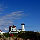 Nubble Lighthouse by kittyrodehorst