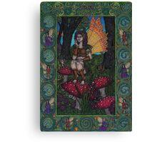 The Woodland Fairy Canvas Print