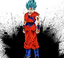Super Saiyan God Super Saiyan Goku by MountyBounty