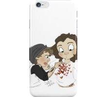 lemme just- just tape this here and here and here iPhone Case/Skin