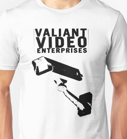 VALIANT VIDEO ENTERPRISES Unisex T-Shirt