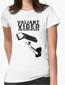 VALIANT VIDEO ENTERPRISES Womens Fitted T-Shirt