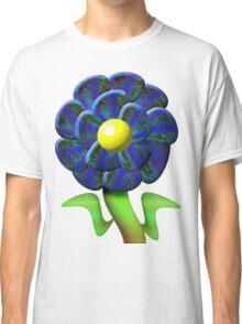 Flower Blue Classic T-Shirt