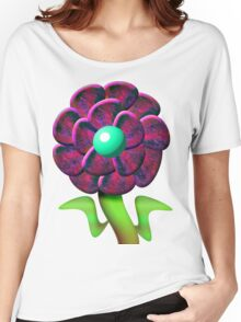 Flower Red Women's Relaxed Fit T-Shirt