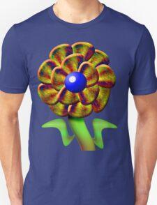 Flower Gold Unisex T-Shirt