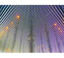 Ceiling lights Photographic Print