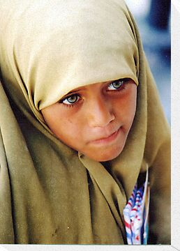 Muslim Green Eyed Giza Girl  by clizzio