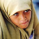 Muslim Green Eyed Giza Girl  by clizzio