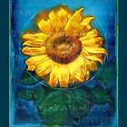 Ho'oponopono Sunflower Cleansing poster by McAllister