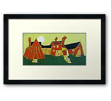 1631 Pleasant Plains Road, Annapolis, MD 21401 Framed Print