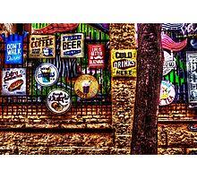 Old Colored Restaurant Fine Art Print Photographic Print