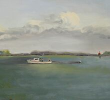 Eastern Bay Crabbers by Phyllis Dixon