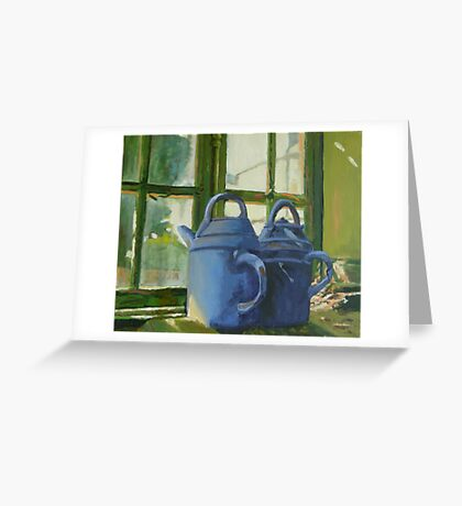 Chateau St. Loup, France potter's shed  Greeting Card