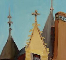 Montreil-Bellay Chateau by Phyllis Dixon