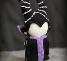 Maleficent inspired plush by DrowsyAurora