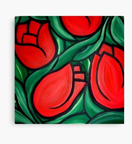 Tulips For Del Canvas Print