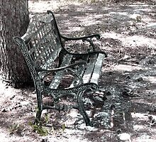 Old Bench by Ashley Huston