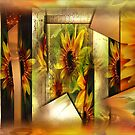 The Ostentatious Realm of Sunflowers by Carmen Holly