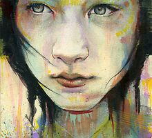 Tea Sketch #1 with color by Michael  Shapcott