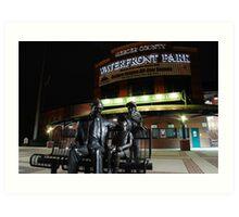 Mercer County Waterfront Park at Night Art Print