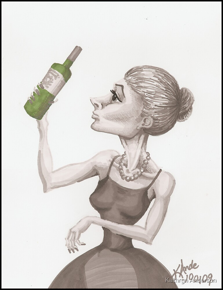 Sommelier 2 by Kat Anderson