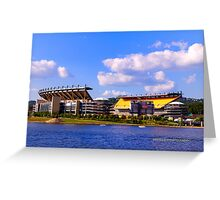 Pittsburgh's Heinz Field Greeting Card