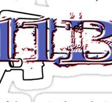 11Bravo - Combat Infantry - WWII Veteran Sticker