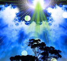 U.F.O tree theif by George  Kaye