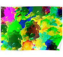 Water Colours Notebook Poster