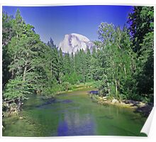 Yosemite National Parks' Half Dome Poster