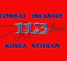 11Bravo - Combat Infantry - Korea Veteran by Buckwhite