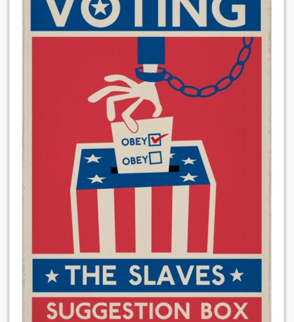 Voting: The Slaves Suggestion Box Sticker