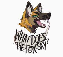 What Does The Fox Say by Danielle Waldman