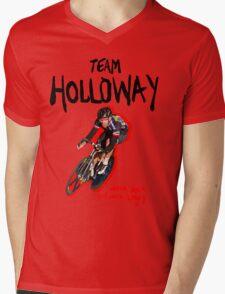 TEAM HOLLOWAY Mens V-Neck T-Shirt