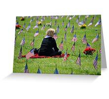 Veterans Memorial Cemetery Greeting Card