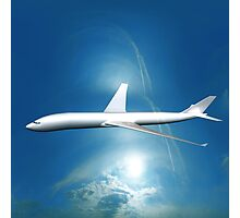 Dream Liner in the Sky Photographic Print