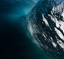 Peeling wave. by Tim Brennan