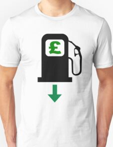 Petrol Prices Fall in the UK T-Shirt