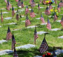 Veterans Memorial Cemetery Sticker