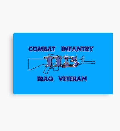 11Bravo - Combat Infantry - Iraq Veteran Canvas Print