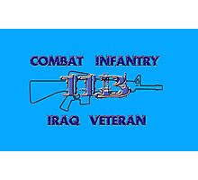 11Bravo - Combat Infantry - Iraq Veteran Photographic Print