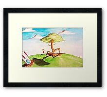 Out of earth  Framed Print