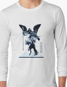 The Game of Kings, Wave Seven: The White Queen's Knight Long Sleeve T-Shirt