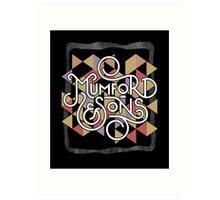 Mumford & son Art Print