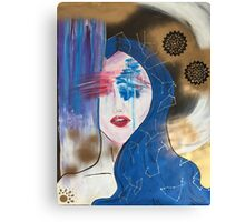 Galaxy Gal Canvas Print