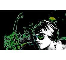 Green dream disco Photographic Print