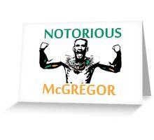 Notorious McGregor Greeting Card