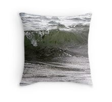 Wave Topple Throw Pillow