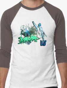 Dino disco Men's Baseball ¾ T-Shirt